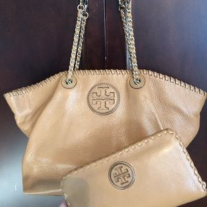Tory Burch Bag and matching wallet